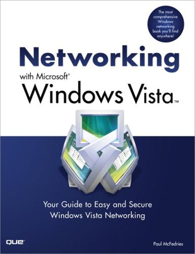 9780789737779: Networking with Microsoft Windows Vista: Your Guide to Easy and Secure Windows Vista Networking