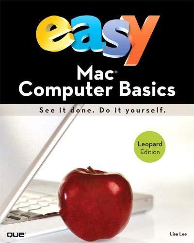 9780789738332: Easy Mac Computer Basics, UK edition
