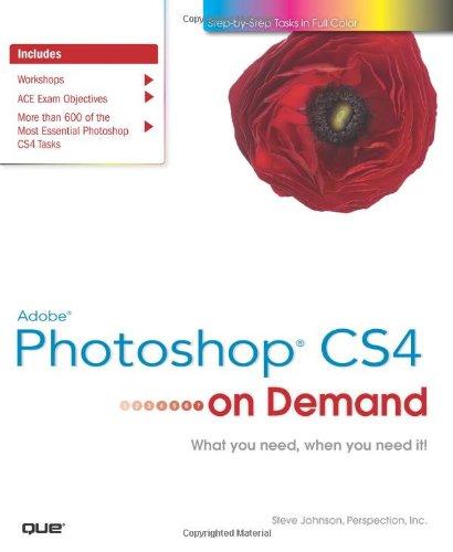 Adobe Photoshop CS4 on Demand (On Demand): Steve Johnson, Perspection