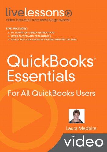 9780789739285: QuickBooks Essentials LiveLessons (Video Training): For All QuickBooks Users