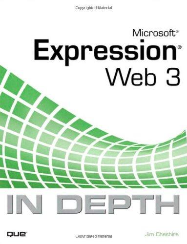 9780789739810: Microsoft Expression Web 3 In Depth