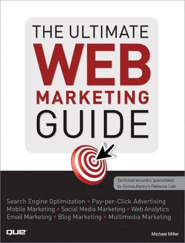 9780789741004: The Ultimate Web Marketing Guide