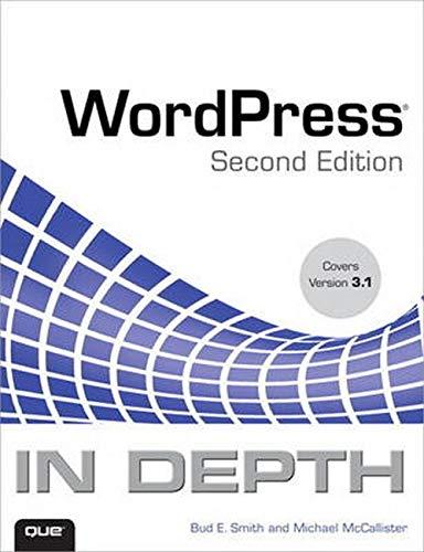 9780789741073: WordPress In Depth (2nd Edition)