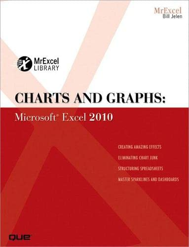 9780789743121: Charts and Graphs: Microsoft Excel 2010