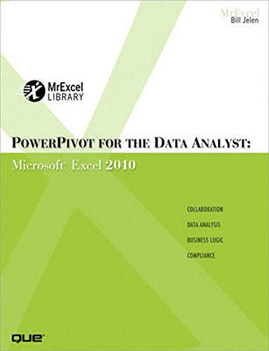 9780789743152: PowerPivot for the Data Analyst: Microsoft Excel 2010 (MrExcel Library)