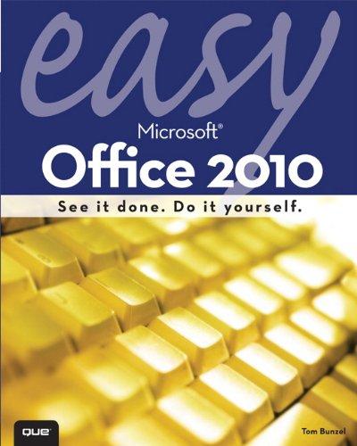 9780789743282: Easy Microsoft Office 2010
