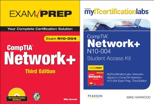 9780789744760: CompTIA Network+: exam N10-004 [With Access Code] (Myitcertificationlabs)