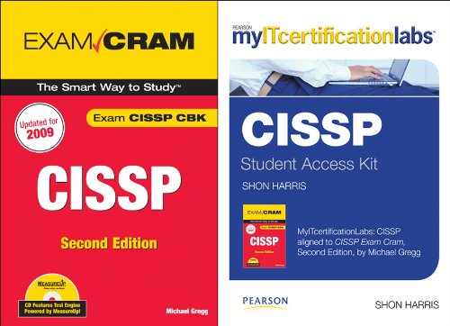 9780789744791: CISSP Exam Cram with MyITCertificationlab Bundle (2nd Edition)