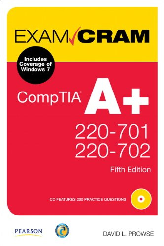 9780789747921: CompTIA A+ 220-701 and 220-702 Exam Cram (5th Edition)