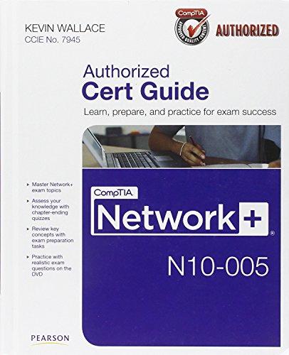 9780789748218: CompTIA Network+ N10-005 Cert Guide (Cert Guide Book & DVD)