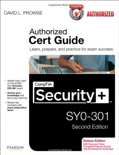 9780789748270: CompTIA Security+ SY0-301 Cert Guide, Deluxe Edition (Cert Guides)