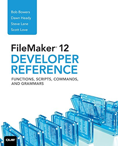9780789748478: FileMaker 12 Developers Reference: Functions, Scripts, Commands, and Grammars