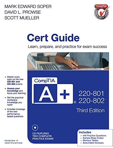 9780789748508: Comptia A+ 220-801 and 220-802 Cert Guide