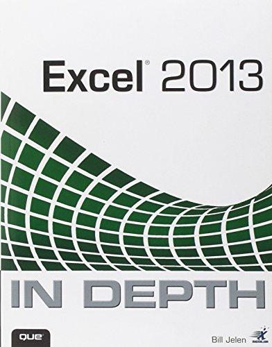 9780789748577: Excel 2013 In Depth