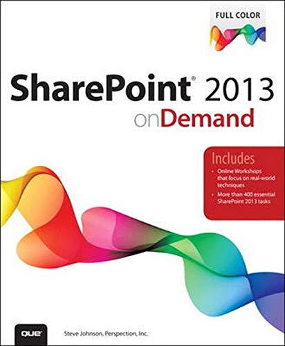 9780789748591: SharePoint 2013 on Demand