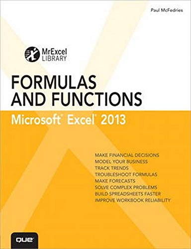 9780789748676: Excel 2013 Formulas and Functions (Mrexcel Library)