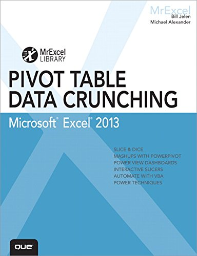9780789748751: Excel 2013 Pivot Table Data Crunching