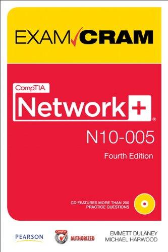 9780789749055: CompTIA Network+ N10-005 Exam Cram (Exam Cram Book & CD Rom)