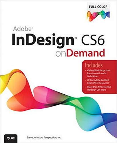 Adobe InDesign CS6 On Demand: Johnson, Steve; Perspective