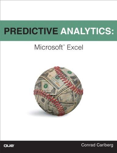 9780789749413: Predictive Analytics: Microsoft Excel