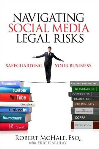 9780789749536: Navigating Social Media Legal Risks: Safeguarding Your Business