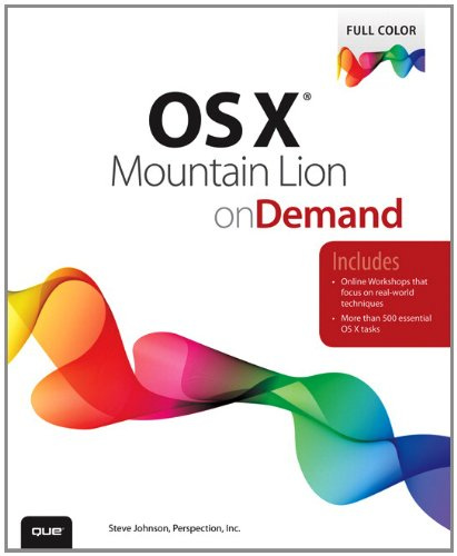 9780789749901: OS X Mountain Lion on Demand (2nd Edition)