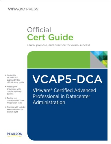 The Official VCAP5-DCA Cert Guide (0789749963) by Bunch, Cody; Carter, Jeremy; Davis, David