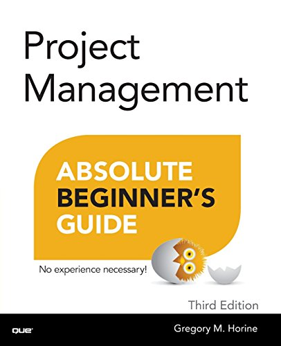 9780789750105: Project Management Absolute Beginner's Guide (3rd Edition)