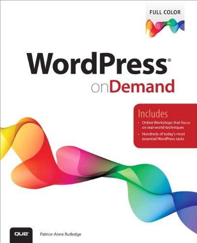 9780789750372: WordPress on Demand