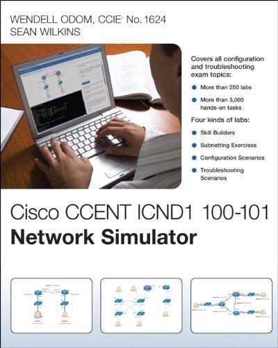 9780789750433: Cisco CCENT ICND1 100-101 Network Simulator