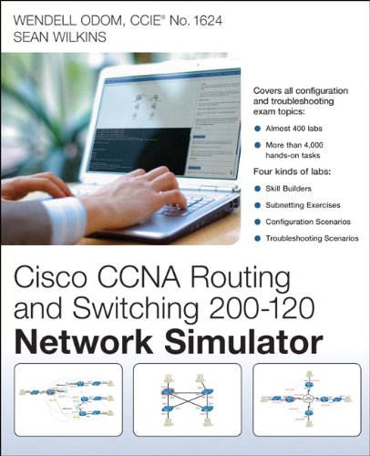 9780789750884: Cisco CCNA Routing and Switching 200-120 Network Simulator