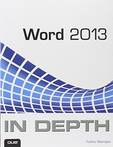 9780789750891: Word 2013 In Depth