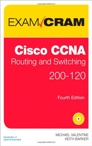 9780789751096: CCNA Routing and Switching 200-120 Exam Cram (4th Edition)