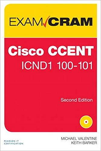 9780789751508: CCENT ICND1 100-101 Exam Cram (2nd Edition)