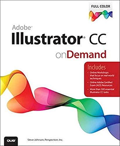 9780789751645: Adobe Illustrator CC on Demand