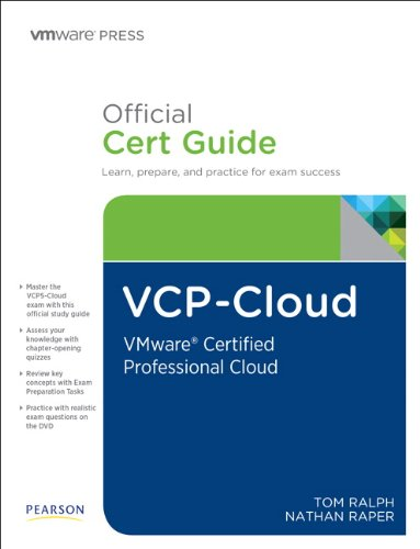 9780789751652: VCP-Cloud Official Cert Guide (with DVD): VMware Certified Professional - Cloud (VMware Press Certification)