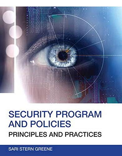 9780789751676: Security Program and Policies: Principles and Practices (2nd Edition) (Certification/Training)