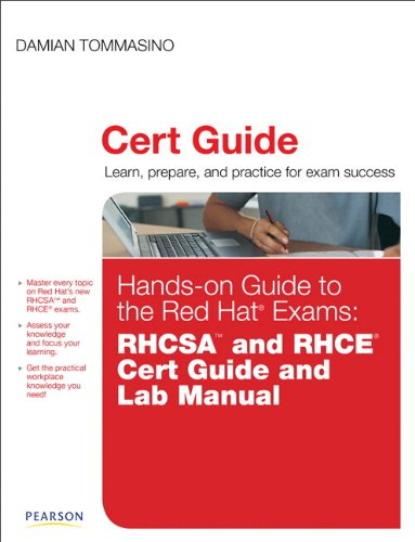 9780789752260: Hands-On Guide to the Red Hat Exams: Rhcsa and Rhce Cert Guide and Lab Manual