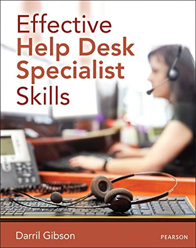9780789752406 Effective Help Desk Specialist Skills
