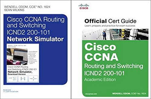 9780789752680: Cisco CCNA R&S ICND2 200-101 OCG, AE and CCNA R&S ICND2 200-101 Network Simulator Bundle