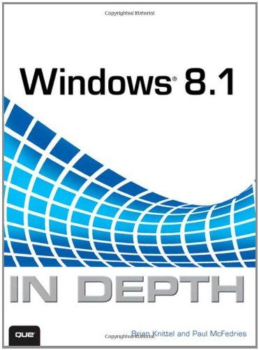 9780789752819: Windows 8.1 in Depth