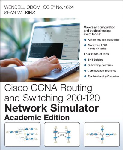 9780789752963: Cisco Ccna Routing and Switching 200-120 Network Simulator: Academic Edition