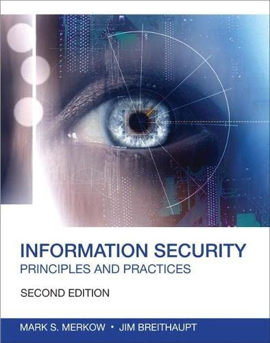 9780789753250: Information Security: Principles and Practices (2nd Edition) (Certification/Training)