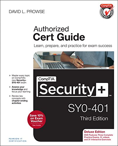 9780789753335: CompTIA Security+ SY0-401 Cert Guide, Deluxe Edition (3rd Edition)