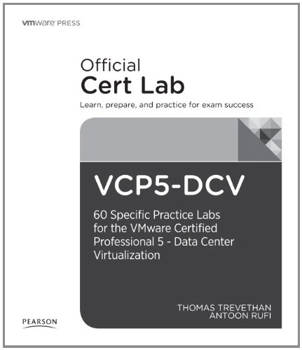 9780789753366: VCP-DVC Lab Booklet: 40 specific labs for the VMware Certified Professional - Data Center (VMware Press Certification)