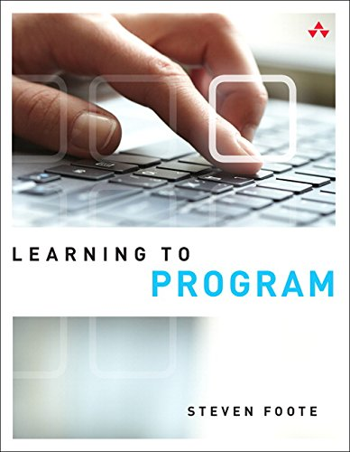 9780789753397: Learning to Program