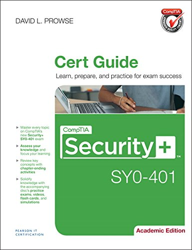 9780789753632: CompTIA Security+ SY0-401 Authorized Cert Guide: Academic Edition