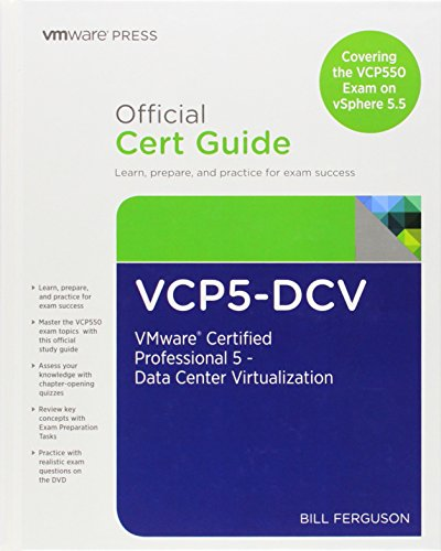 9780789753748: VCP5-DCV Official Cert Guide: VMware Certified Professional 5 - Data Center Virtualization: Covering the VCP550 Exam on vSphere 5.5