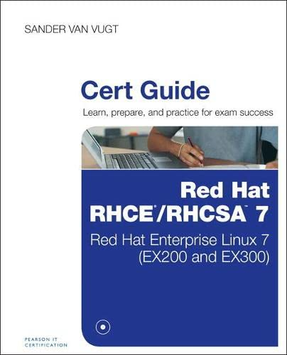 9780789754059: Red Hat RHCSA/RHCE 7 Cert Guide: Red Hat Enterprise Linux 7 (EX200 and EX300) (Certification Guide)