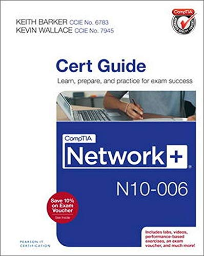 9780789754080: Comptia Network+ N10-006 Cert Guide